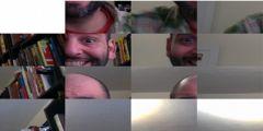 Webcam Yapboz oyunu Resim fotoğraf