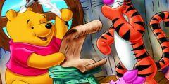 Winnie The Pooh Boyama oyunu Resim fotoğraf