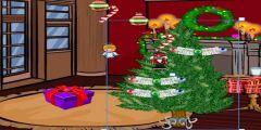 Yılbaşı Ağacı Süsleme oyunu Resim fotoğraf